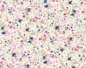 Robert Kaufman - Sevenberry Petite Garden Purple Pink Blue Scattered FloralsJapanese Cotton Fabric SB-6116D1-4 PURPLE