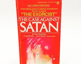 Vintage Horror Book The Case Against Satan by Ray Russell 1962 Paperback