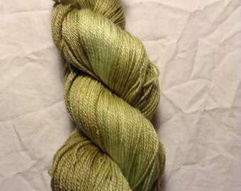 """Scaredy Cat Base """"Strong to the Finich"""" Falkland British Merino/Tencel 365 yards/100g Sock weight"""