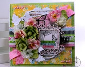 Believe & Love Faith All Occasion Greeting Card Polly's Paper Studio Handmade