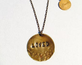 Loved Affirmation Necklace