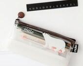 Cute Animal Pen Pouch Pencil Pouch Case -Gel Ink Pen Pouch Receive Pouch