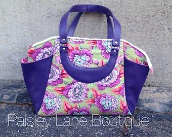 Large Tote Sized Handbag/ Laptop bag/ Professional Tote