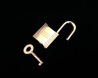 Remplacement de sac à main cadenas or s'adapte à Hermes, accessoire, bijoux ou l'artisanat