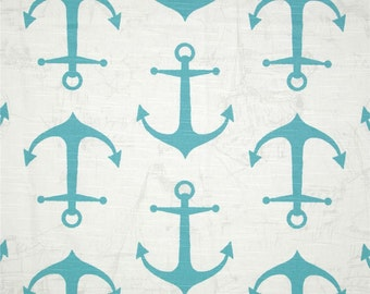 Premier Prints Anchor Slub Fabric