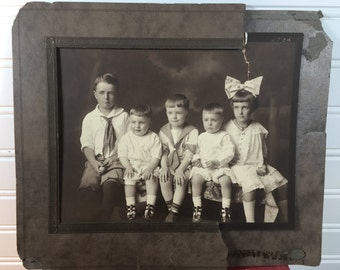 Antique Picture-Family Picture-Antique Picture Of Children