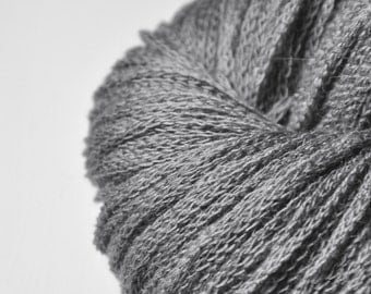 Charcoal ashes OOAK - Merino/Alpaca/Yak DK Yarn - Winter Edition