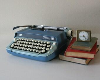 Vintage Smith Corona Sterling Typewriter, Manual, Gift