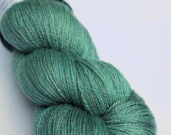 Silken lace - sea foam