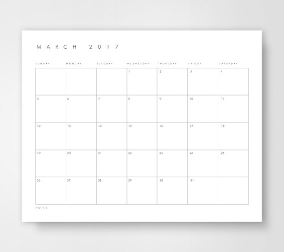 Desk Calendar Printables : Desk calendar monthly printable