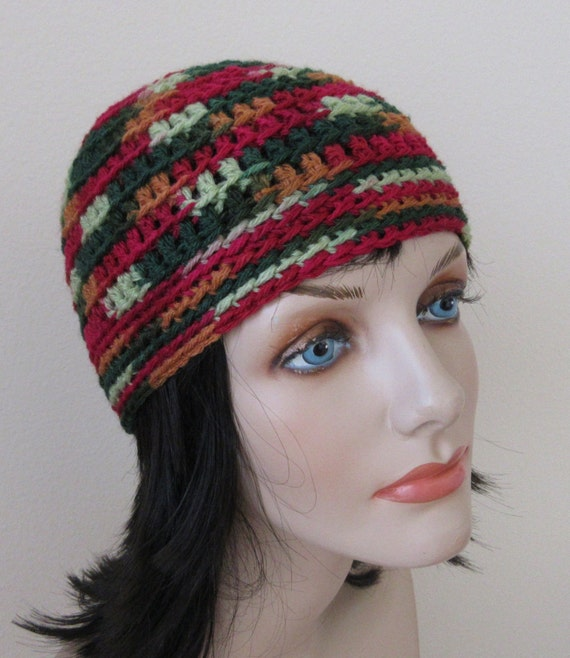 Beanie Crochet Beanie Cold Weather Hat Green Beanie Red Beanie Burnt Orange Beanie Snow Playing Ice Skating Hockey Mom