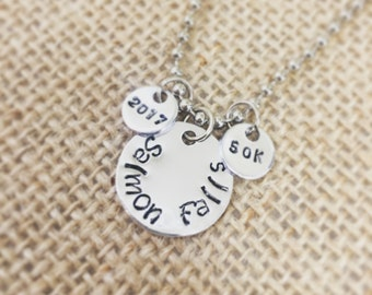 Running Memory Necklace (small)