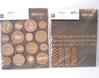 DESTASH - Studio Calico Cork Stickers