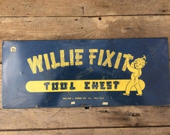 "Vintage Willie Fixit Tool Chest - 15% off when you enter ""Washington"""