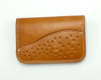 Ranchero Card Wallet - leather wallet - mens leather wallet - card case - slim wallet - credit card wallet - front pocket wallet