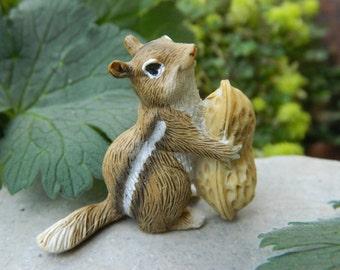 Fairy Garden Accessories Fairy Garden Chipmunk Miniature Garden Accessories Fairy Pet Craft Supply