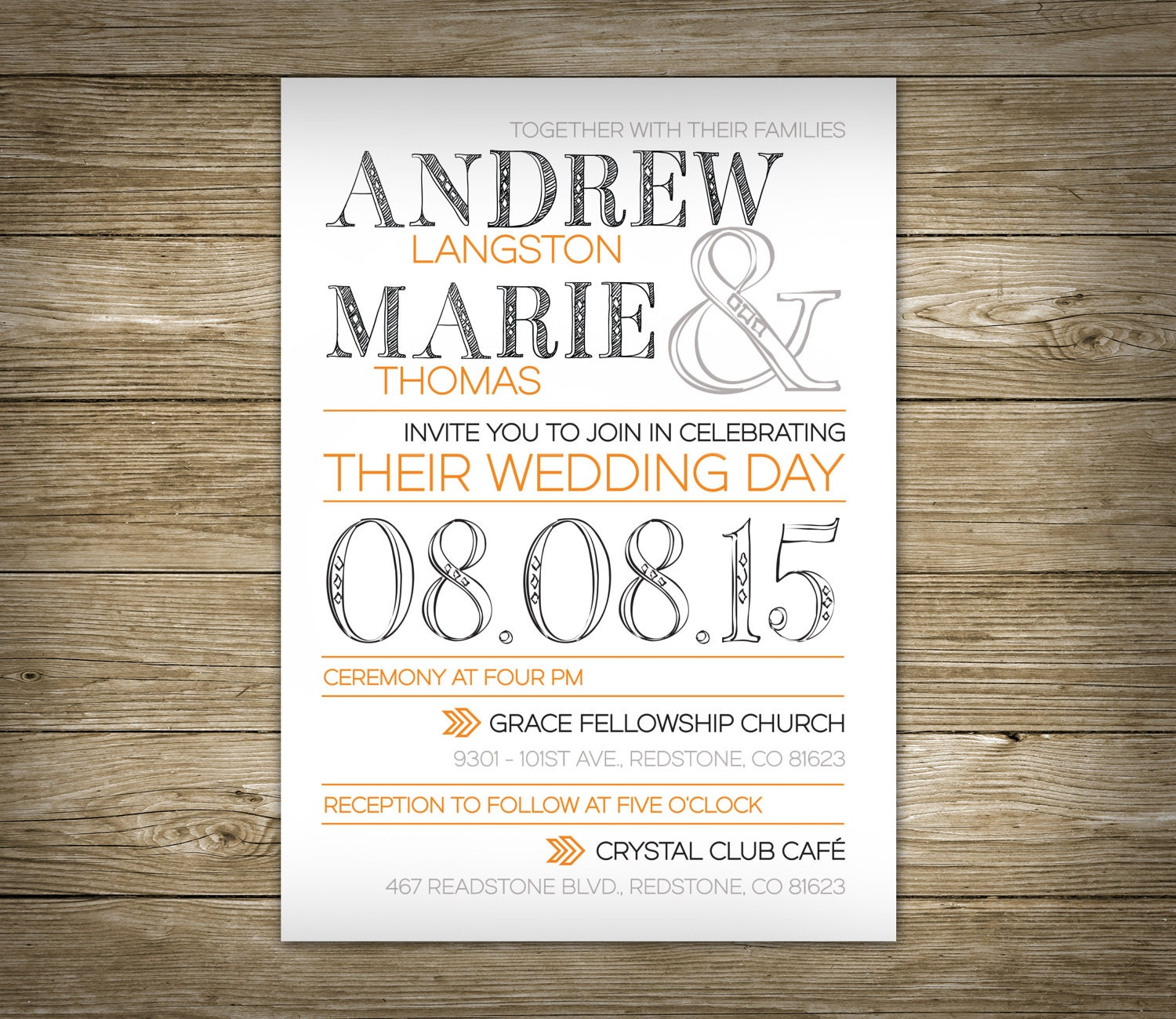 Wedding Invitations - Studio Veil