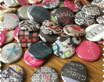 Thirty-One Hostess Grab Bag Set of Pins, Magnets or Thumb Tacks, Consultant, Direct Sales, Giveaways, Consultant Supplies