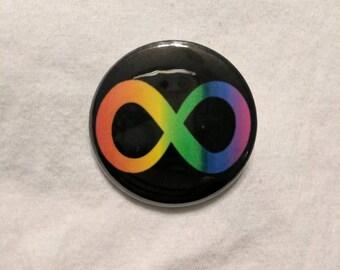 Neurodiverse Button/Magnet