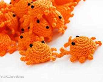 Little Crab - Amigurumi pattern