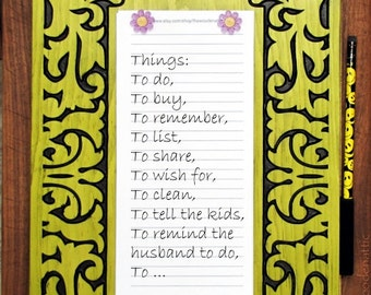 To Do List, Daily Organizer, List Manager, Daily Planner, Paper Stationary, Paper Pads, Scratch Pads, Task Manager, Daily Reminder