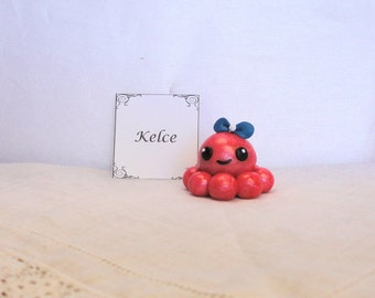 Clay Octopus- Kelce the Polymer Clay Octo Buddy