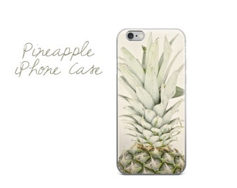 Pineapple iPhone Case, Pineapple iPhone 7 Plus Cover, Pineapple iPhone 6 Plus Case, Pineapple Art iPhone,