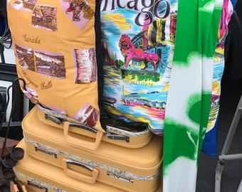 Niagra Falls Vintage Scarf Pillow