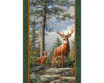 Quilting Treasures, Deer Panel