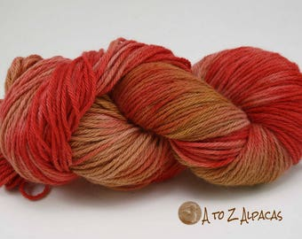 Hand Dyed Royal Baby Alpaca Yarn Bulky Weight Fruitopia