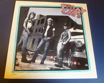 Stray Cats Rock Therapy Vinyl Record ST-17226  EMI America Records 1986