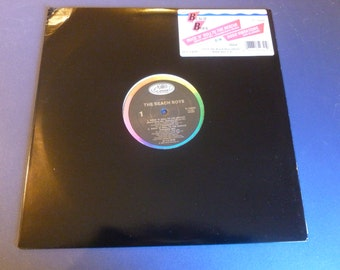 """The Beach Boys Rock""""N"""" Roll To The Rescue / Good Vibrations V-15234 12"""" Single 1986"""