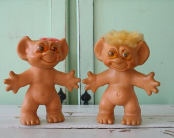 Naked trolls Etsy