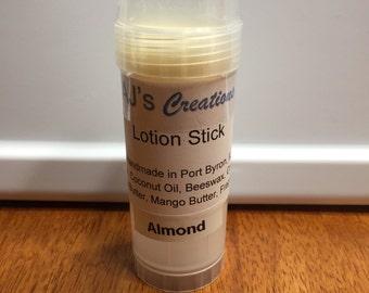 Handmade lotion stick, lotion bar, hard lotion
