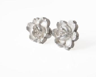 Flower Sterling Silver - white