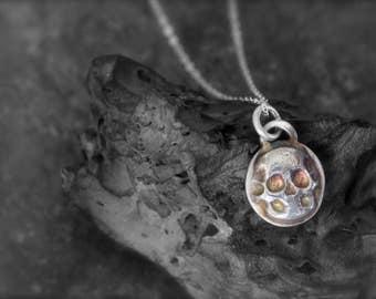 Sterling Silver Skull Pendants