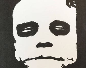 Heath Ledger Always Smiling Portrait 8x6 inch Original