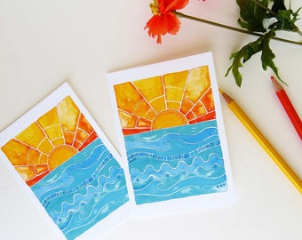 You Are My Sunshine Notecards, Good Morning Sunshine, Set of Eight