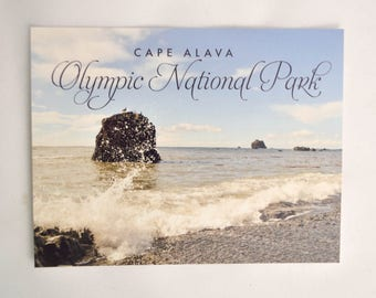 Postcards Olympic National Park - Single PRE-ORDER