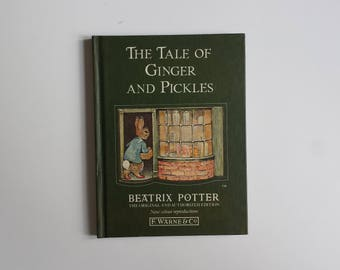 The Tale of Ginger and Pickles by Beatrix Potter | children's classics vintage book | Beatrix Potter children's books