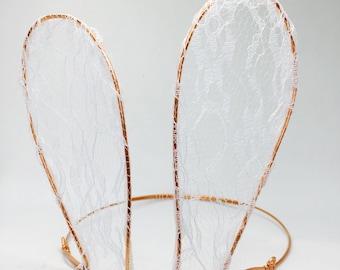 Lace Bunny Ears - Wire Ears - Rabbit Cosplay - Animal Ears
