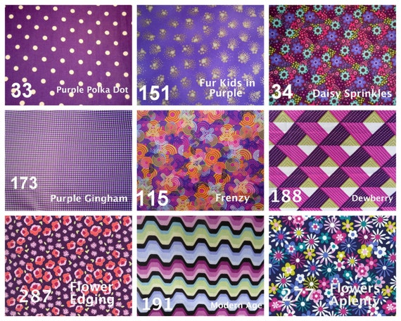 Fabrics Selections for Collars, Harness and Leashes