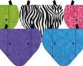 5 Pack Hen Saddles / Chicken Aprons Butterfly Style Wing Protectors