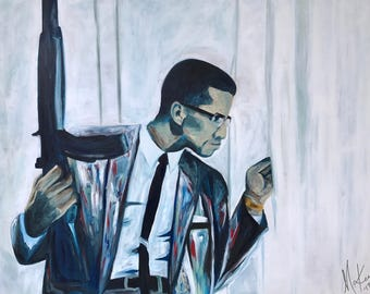 Brother Malcolm Fine Art Print