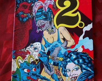 2.2 Two Squared S Clay Wilson artist 1996 Comic Comix Keith Green Publishing biker babes erotic yikes adult mature