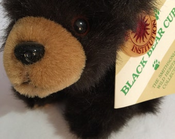 Smithsonian Wild Heritage Collection Black Bear Cub 1995 Made by Soundprints Trudy Management Corp.
