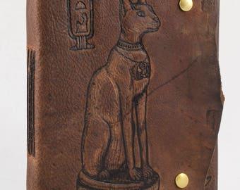Goddess Bastet Journal/ Sketchbook