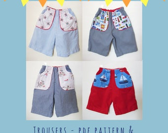 Trouser - PDF Pattern and Video Tutorial