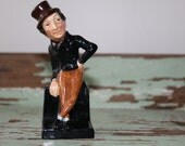 Antique Royal Doulton Jingle Figurine Dickens Series 2 - Alfred Jingle Figurine Made in England