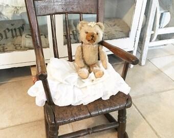 Antique Handmade Primitive Child's Wood Rocking Chair